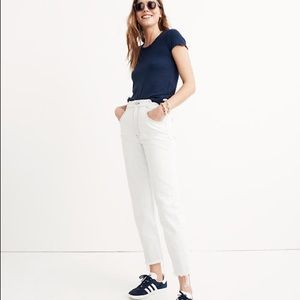 Madewell Tall Tapered Jeans wide leg